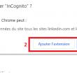 """Naviguez en mode incognito sur Linkedin avec l'extension """"InCognito"""" 79"""