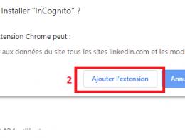 """Naviguez en mode incognito sur Linkedin avec l'extension """"InCognito"""" 17"""