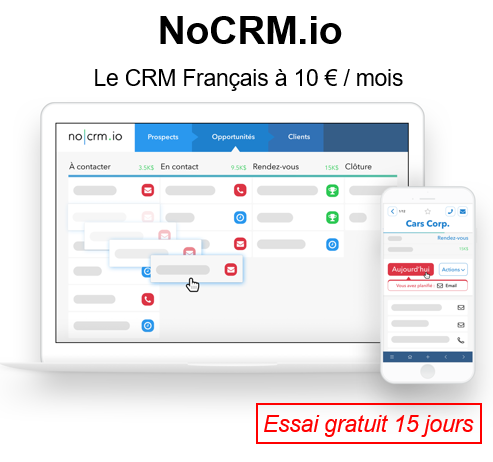 Quels sont les éditeurs Français de CRM alternatifs aux leaders internationaux Salesforce, Microsoft CRM, Sugar CRM, Zoho CRM.... 14