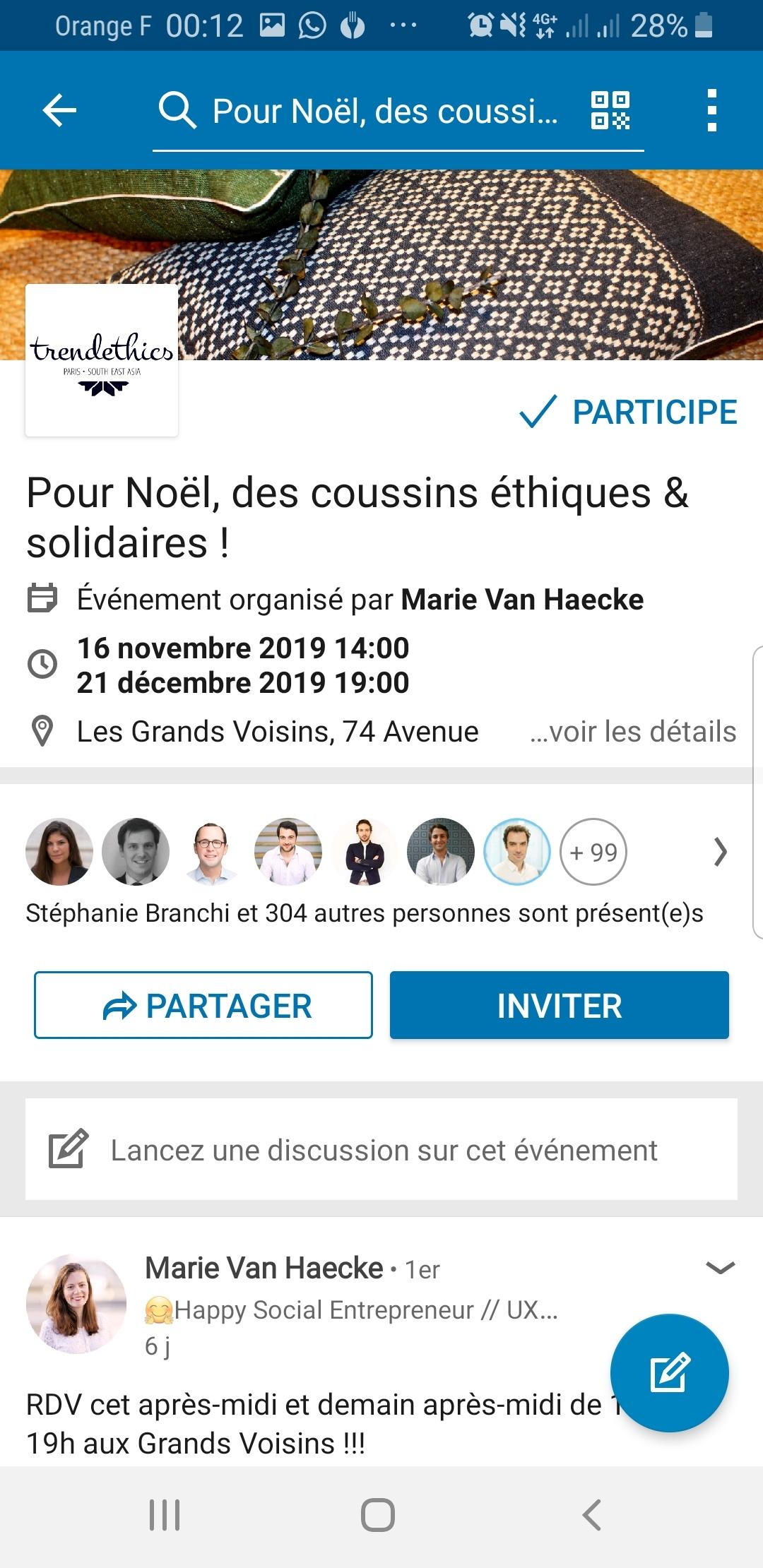 Comment participer ou créer un événement Linkedin ? 6