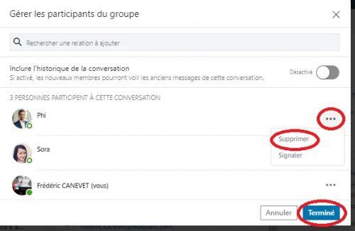Comment envoyer un message groupé à une sélection de vos contacts LinkedIn ? - Messages Groupés sur Linkedin 9