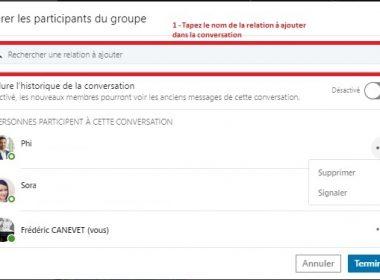Comment envoyer un message groupé à une sélection de vos contacts LinkedIn ? - Messages Groupés sur Linkedin 37