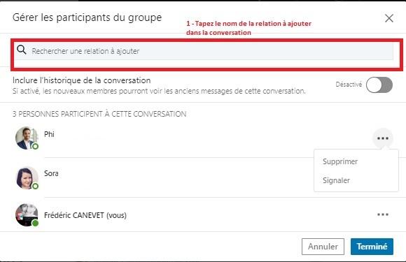 Comment envoyer un message groupé à une sélection de vos contacts LinkedIn ? - Messages Groupés sur Linkedin 1