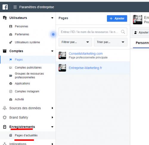 Comment enregistrer sa Page Facebook en Page d'Actualités Facebook ? 10
