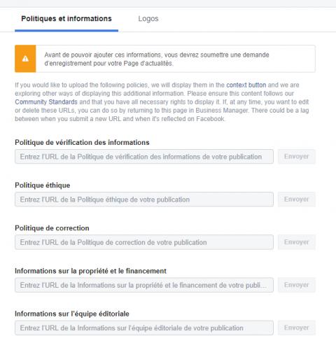 Comment enregistrer sa Page Facebook en Page d'Actualités Facebook ? 13