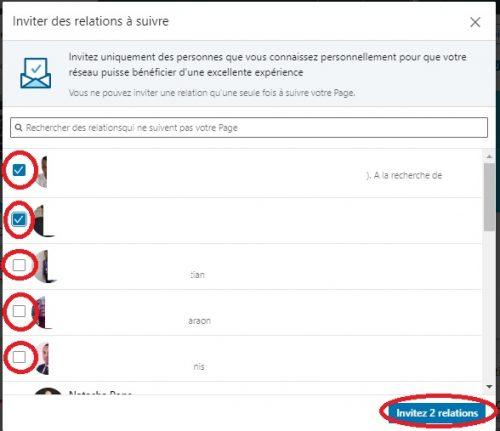 Comment inviter ses contacts à suivre votre page LinkedIn ? 6