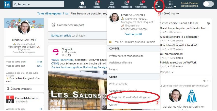 Comment inviter ses contacts à suivre votre page LinkedIn ? 2