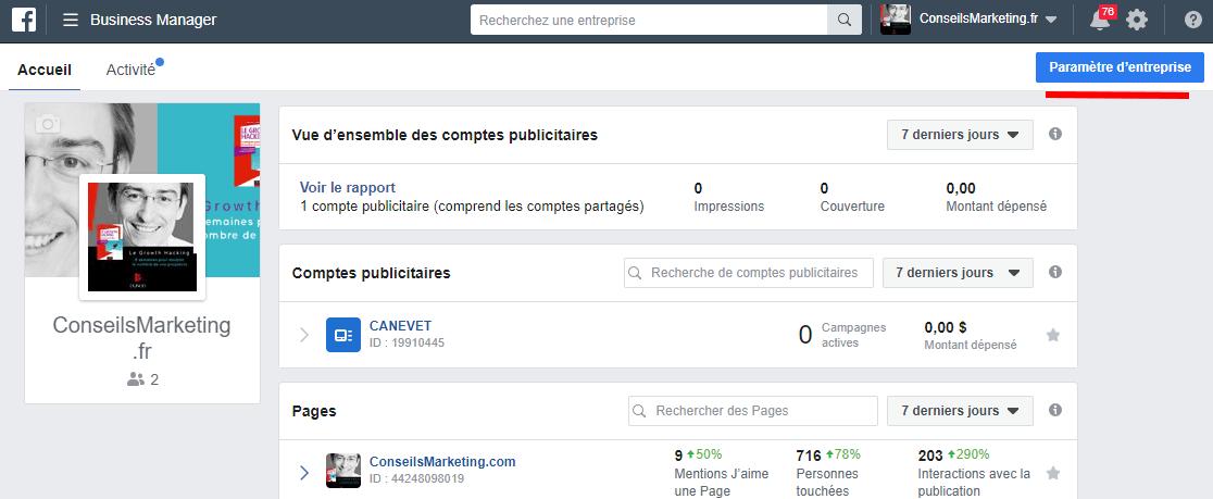 Comment enregistrer sa Page Facebook en Page d'Actualités Facebook ? 5