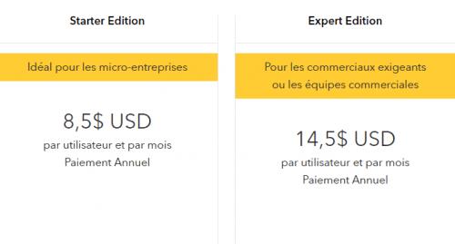 Spécial logiciel CRM : Les 13 meilleurs logiciels de CRM pour une PME en France 10