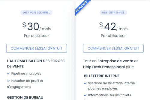 Spécial logiciel CRM : Les 13 meilleurs logiciels de CRM pour une PME en France 39