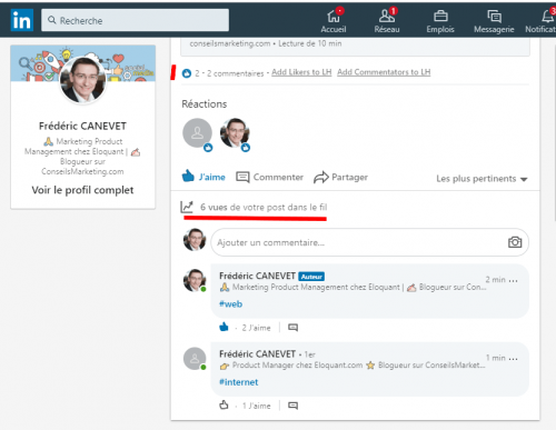 Comment inviter ses contacts à suivre votre page LinkedIn ? 11