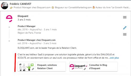 Comment valoriser vos prestations ou vos réalisations dans votre profil LinkedIn 5