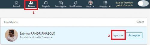 N'acceptez plus les demandes de connexion LinkedIn sans rien dire... Préparez un message d'accueil 6
