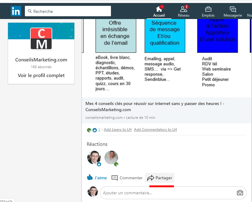 Comment avoir plus d'abonnés à votre Page Linkedin ? 1