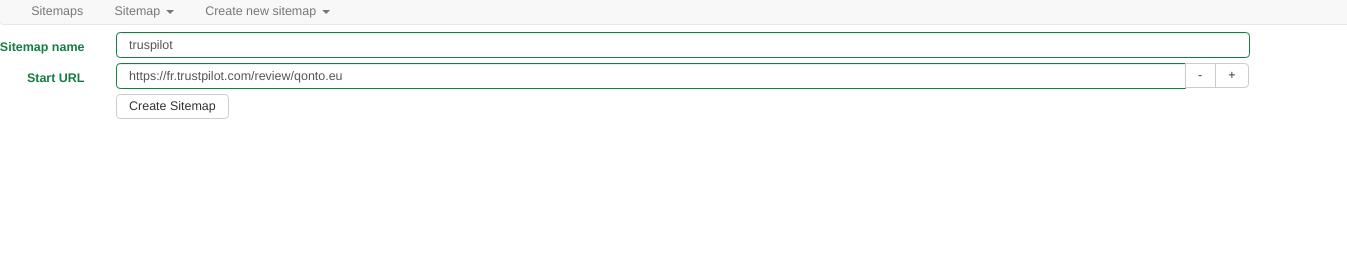 Comment faire du Web Scraping : cas pratique avec la récupération des avis clients sur Trustpilot avec webscraper.io 19