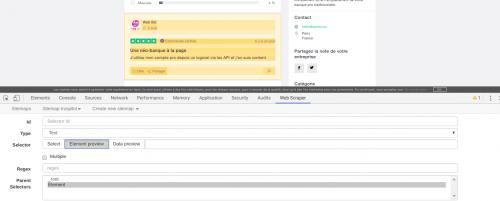 Comment faire du Web Scraping : cas pratique avec la récupération des avis clients sur Trustpilot avec webscraper.io 61