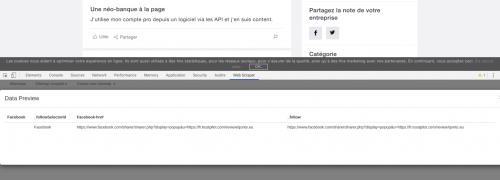 Comment faire du Web Scraping : cas pratique avec la récupération des avis clients sur Trustpilot avec webscraper.io 44