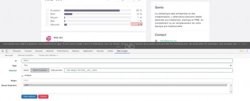 Comment faire du Web Scraping : cas pratique avec la récupération des avis clients sur Trustpilot avec webscraper.io 48
