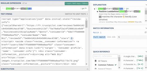 Comment faire du Web Scraping : cas pratique avec la récupération des avis clients sur Trustpilot avec webscraper.io 67