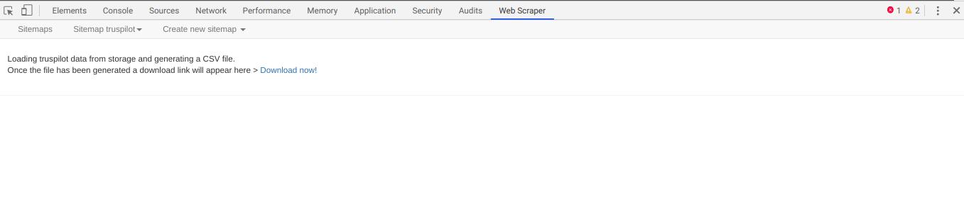 Comment faire du Web Scraping : cas pratique avec la récupération des avis clients sur Trustpilot avec webscraper.io 84