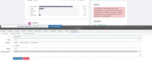 Comment faire du Web Scraping : cas pratique avec la récupération des avis clients sur Trustpilot avec webscraper.io 40