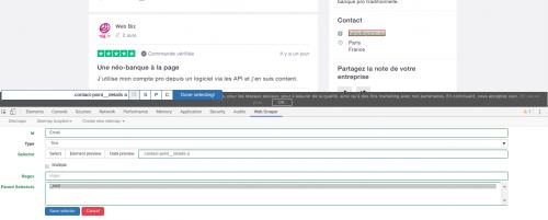 Comment faire du Web Scraping : cas pratique avec la récupération des avis clients sur Trustpilot avec webscraper.io 37
