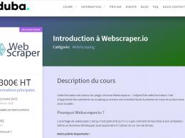 Comment faire du Web Scraping : cas pratique avec la récupération des avis clients sur Trustpilot avec webscraper.io 58