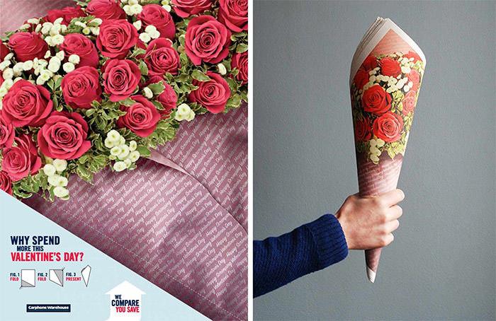 Les plus belles publicités sur la Saint Valentin... de quoi devenir Romantique - creative valentine's day ads 12
