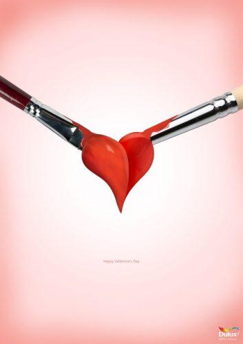 Les plus belles publicités sur la Saint Valentin... de quoi devenir Romantique - creative valentine's day ads 16