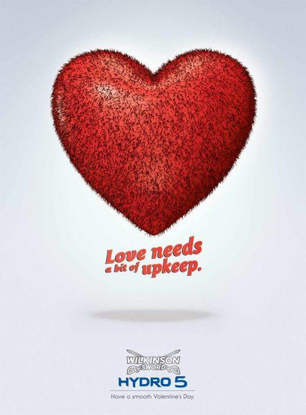 Les plus belles publicités sur la Saint Valentin... de quoi devenir Romantique - creative valentine's day ads 49