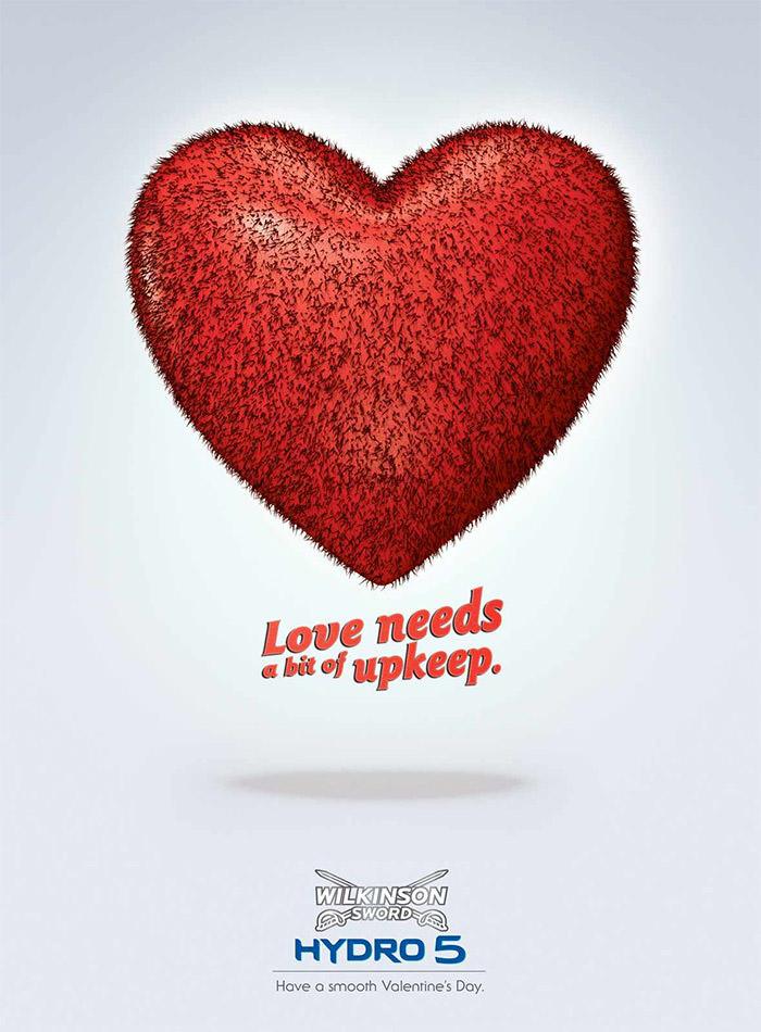 Les plus belles publicités sur la Saint Valentin... de quoi devenir Romantique - creative valentine's day ads 46