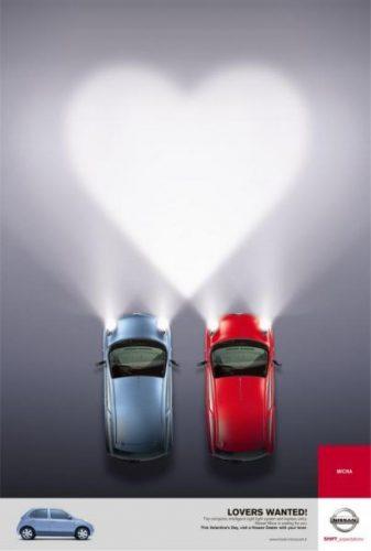 Les plus belles publicités sur la Saint Valentin... de quoi devenir Romantique - creative valentine's day ads 7