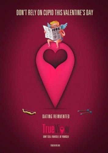 Les plus belles publicités sur la Saint Valentin... de quoi devenir Romantique - creative valentine's day ads 11