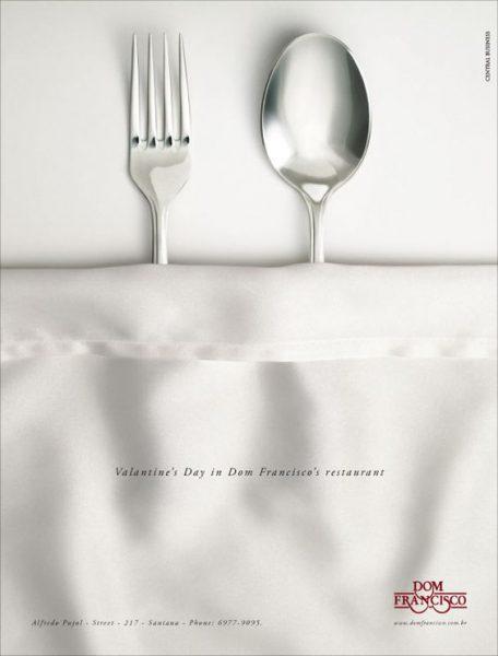 Les plus belles publicités sur la Saint Valentin... de quoi devenir Romantique - creative valentine's day ads 41