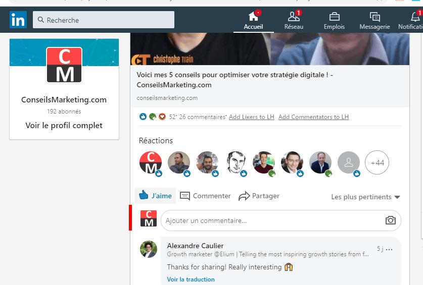 Comment avoir plus d'abonnés à votre Page Linkedin ? 4