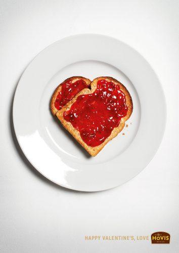 Les plus belles publicités sur la Saint Valentin... de quoi devenir Romantique - creative valentine's day ads 5