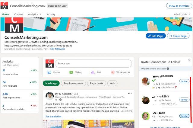 Comment avoir plus d'abonnés à votre Page Linkedin ? 25