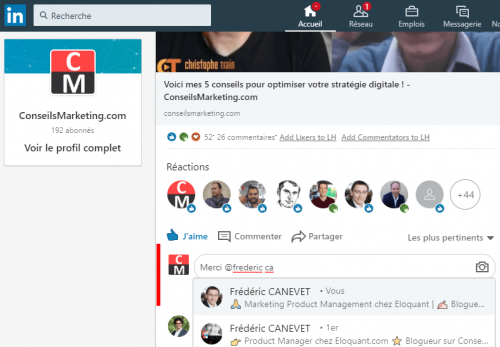 Comment avoir plus d'abonnés à votre Page Linkedin ? 5