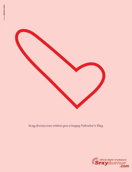 Les plus belles publicités sur la Saint Valentin... de quoi devenir Romantique - creative valentine's day ads 19