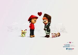 Les plus belles publicités sur la Saint Valentin... de quoi devenir Romantique - creative valentine's day ads 22