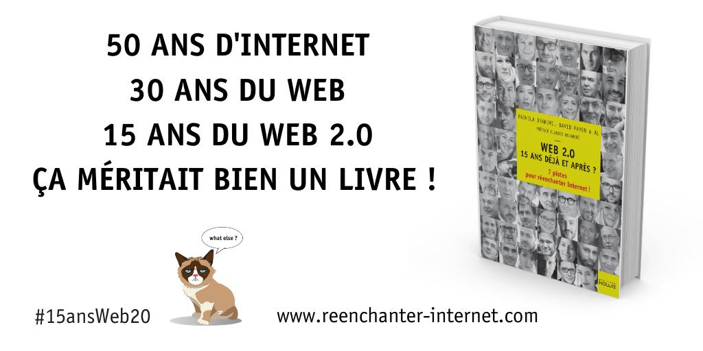 Comment survivre aux révolutions du web ? Je vous donne mon avis ! #15ansWeb20 2