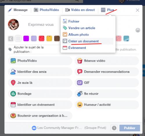 Comment écrire en gras sur Facebook ? 6