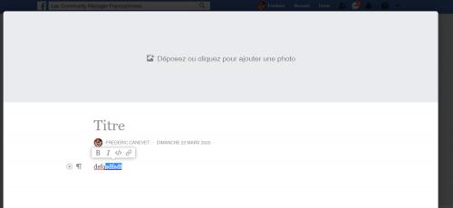 Comment écrire en gras sur Facebook ? 7