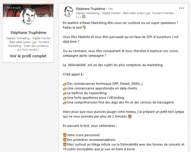 Comment obtenir de l'engagement sur LinkedIn ? 9 types d'articles pour booster votre visibilité ! 7