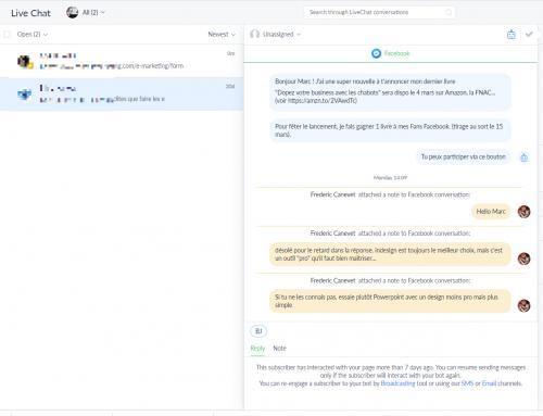 Les nouvelles règles de Facebook sur les Chatbots Messenger... la révolution du 4 mars 2020 ! 16