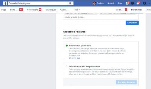 Les nouvelles règles de Facebook sur les Chatbots Messenger... la révolution du 4 mars 2020 ! 12