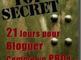 """eBook Gratuit """" 21 Jours pour Bloguer comme un PRO !"""" 8"""