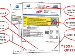 Saviez-vous que vos factures pouvaient devenir de vrais outils marketing ? 9