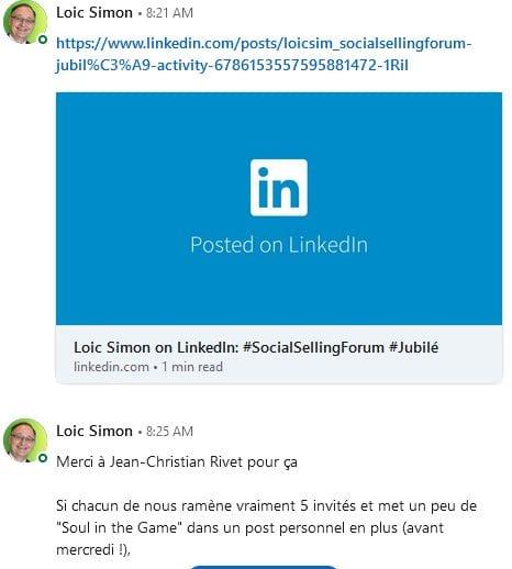 Comment obtenir de l'engagement sur LinkedIn ? 9 types d'articles pour booster votre visibilité sur Linkedin ! 43