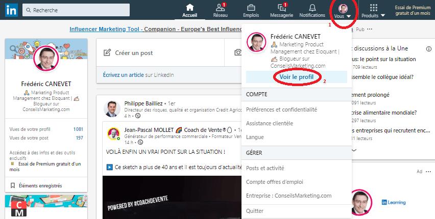 Comment ajouter une nouvelle sélection « épinglée » pour optimiser un profil LinkedIn ? 2